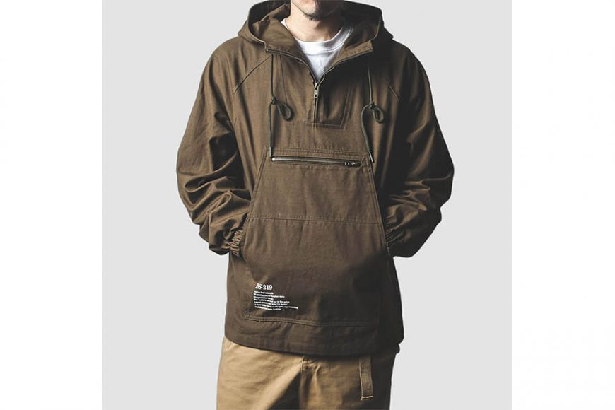 B-SIDE 213(三)發售 18 AW BS 219 Pullover JKT (3)