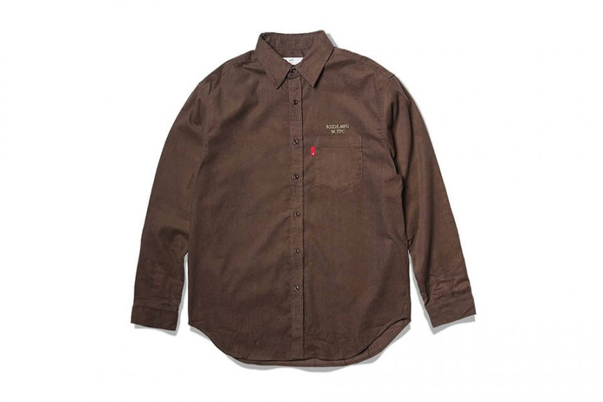 B-SIDE 19 SS Corduroy Shirt (10)