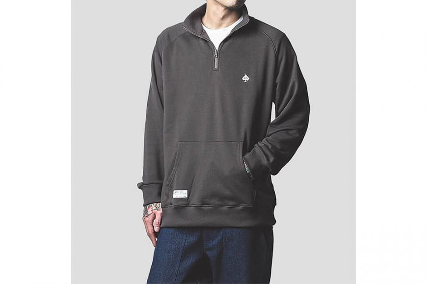 B-SIDE 313(三)發售 19 SS Zip Neck Sweater (4)
