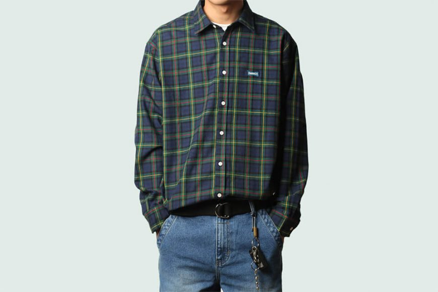 B-SIDE 36(三)發售 19 SS Old Fashion Checked Shirts (1)