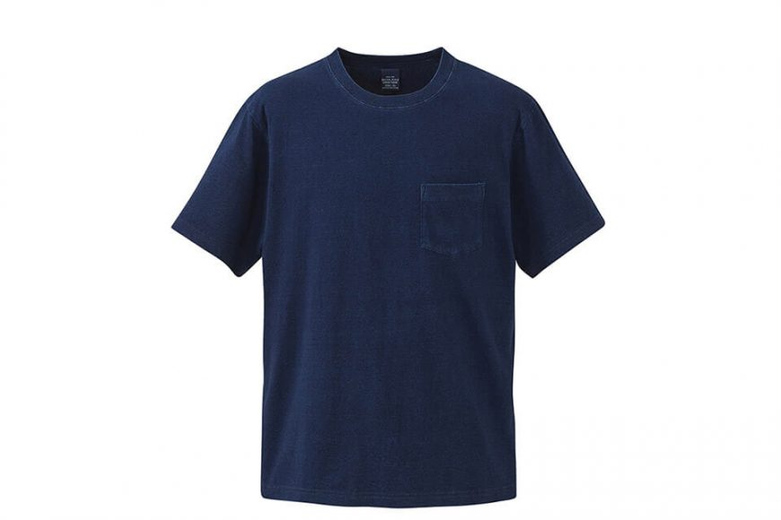 United Athle 3991-01 5.3oz 丹寧風T恤 (附口袋) (3)