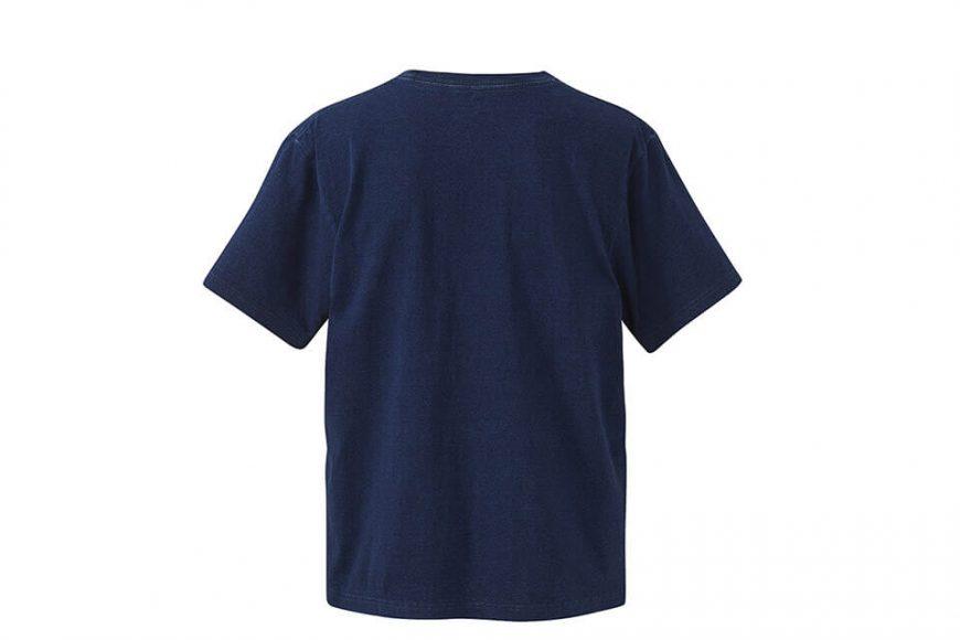 United Athle 3991-01 5.3oz 丹寧風T恤 (附口袋) (4)