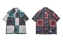 OVKLAB 19 SS Paisley Pattern Shirt (1)