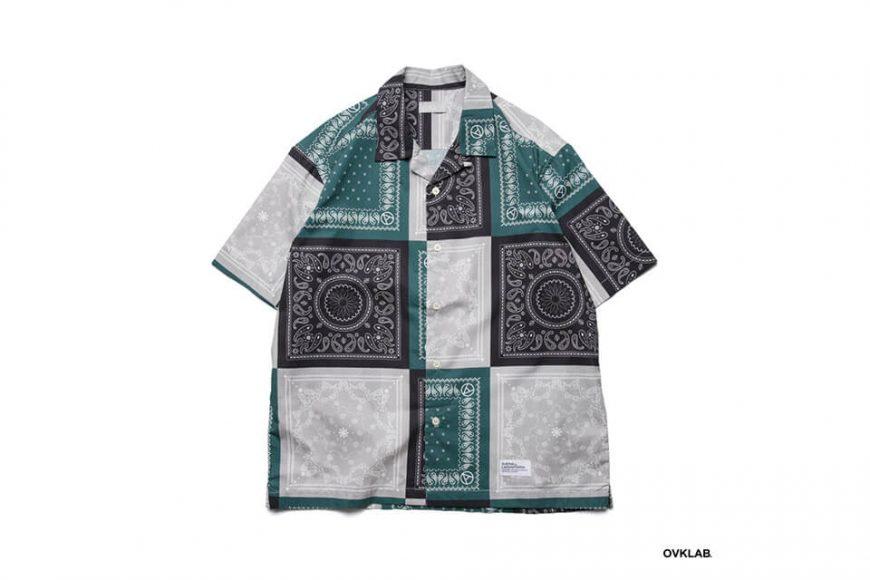 OVKLAB 19 SS Paisley Pattern Shirt (2)