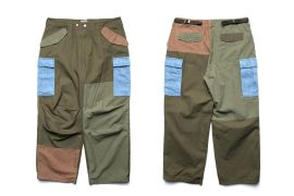 OVKLAB 19 SS Patchwork M-65 Trousers (1)