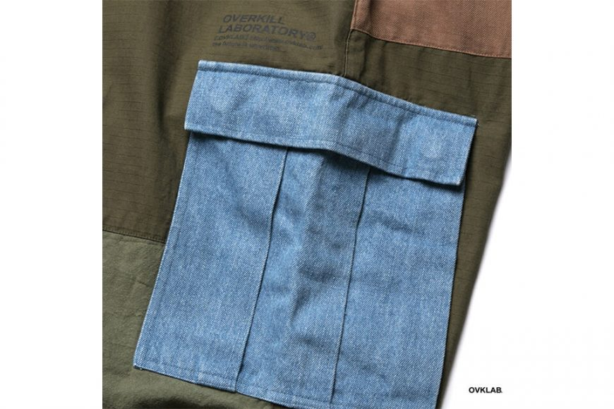 OVKLAB 19 SS Patchwork M-65 Trousers (4)