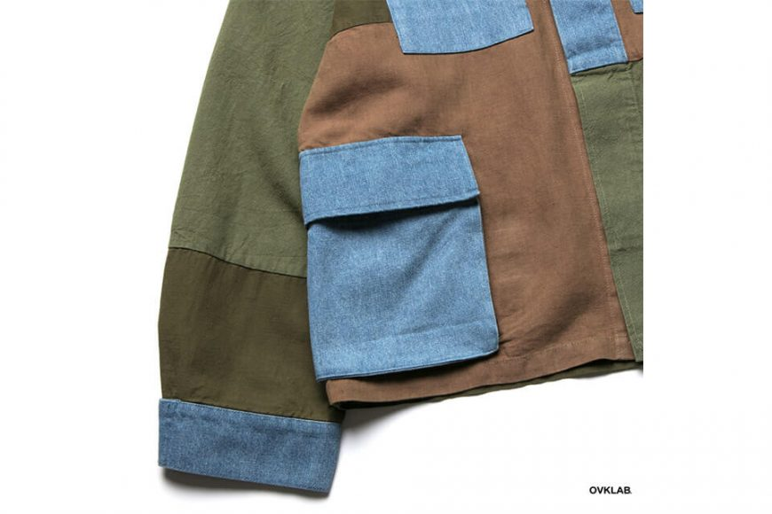 OVKLAB 19 SS Patchwork Military Jacket (3)