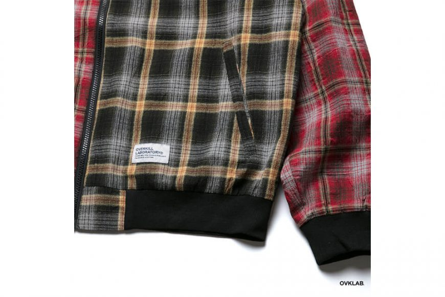 OVKLAB 19 SS Sided Wear Patch Check Jacket (10)