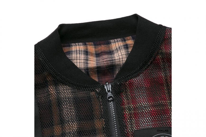 OVKLAB 19 SS Sided Wear Patch Check Jacket (12)