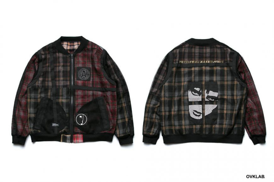 OVKLAB 19 SS Sided Wear Patch Check Jacket (2)