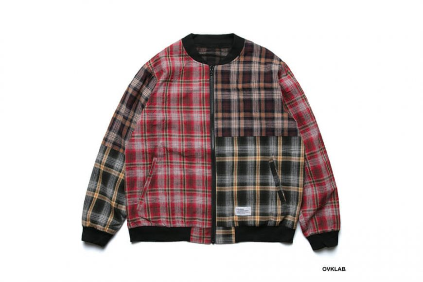 OVKLAB 19 SS Sided Wear Patch Check Jacket (3)