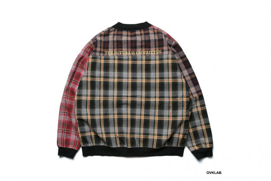 OVKLAB 19 SS Sided Wear Patch Check Jacket (4)