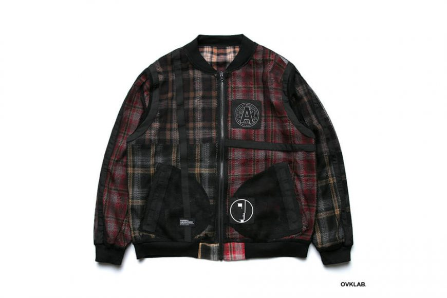 OVKLAB 19 SS Sided Wear Patch Check Jacket (5)