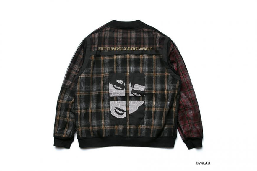 OVKLAB 19 SS Sided Wear Patch Check Jacket (6)