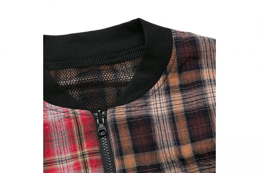 OVKLAB 19 SS Sided Wear Patch Check Jacket (7)