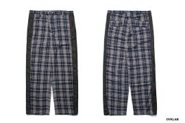OVKLAB 19 SS Wide Check Pants (1)