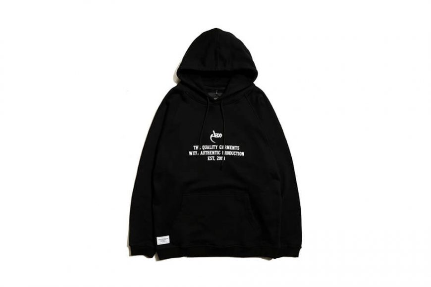 AES 19 SS AES Basic Logo hoodie (2)