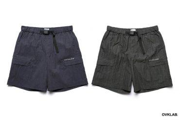 OVKLAB 19 SS Elastic Waist Buckle Shorts (0)