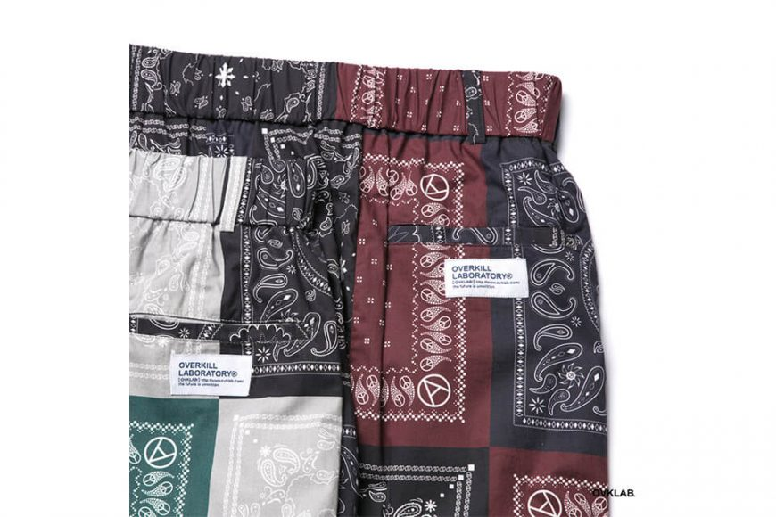 OVKLAB 19 SS Paisley Pattern Wide Shorts (9)