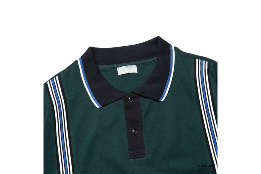 OVKLAB 19 SS Striped Jacquard Polo Shirt (2)