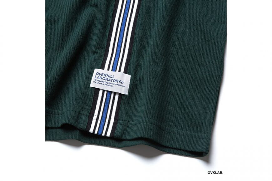OVKLAB 19 SS Striped Jacquard Polo Shirt (4)