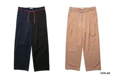 OVKLAB 19 SS Tapered Pants (1)