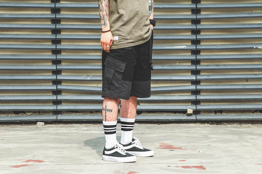 B-SIDE 19 SS 2 Tone M Shorts (2)