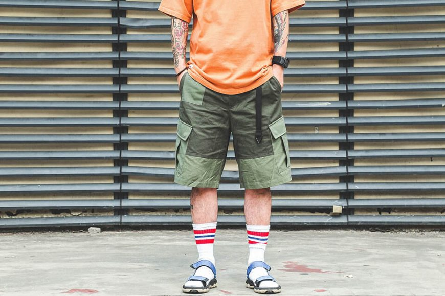 B-SIDE 19 SS 2 Tone M Shorts (5)