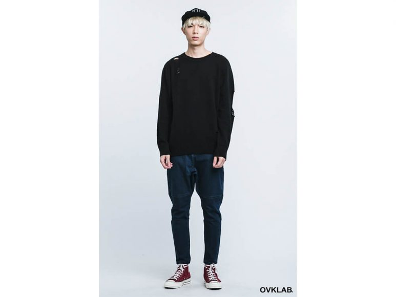 OVKLAB 16 AW Destroyed Knit Sweater (1)