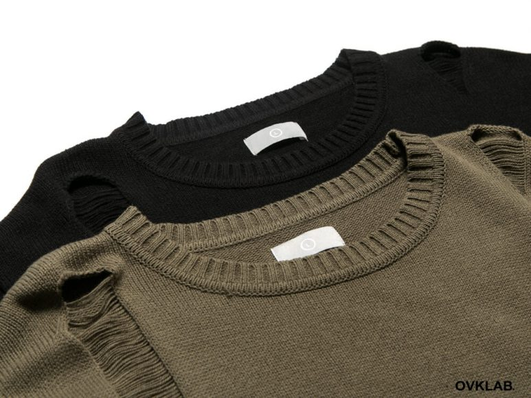 OVKLAB 16 AW Destroyed Knit Sweater (11)