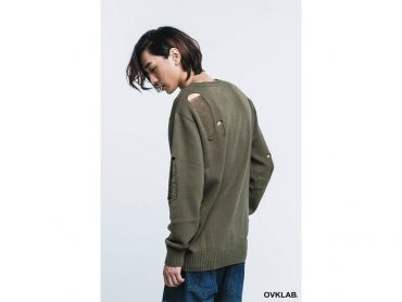 OVKLAB 16 AW Destroyed Knit Sweater (5)