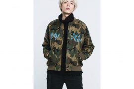 OVKLAB 16 AW Camo Varsity Jacket (2)