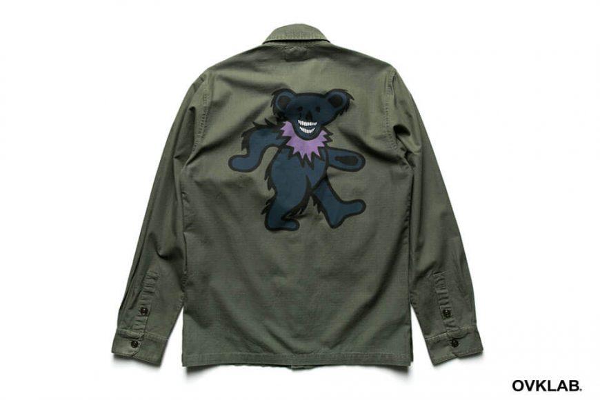 S-1607_Dancing Bear Military Shirt-2