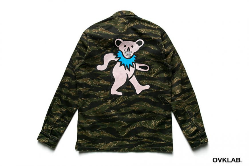 S-1607_Dancing Bear Military Shirt-4