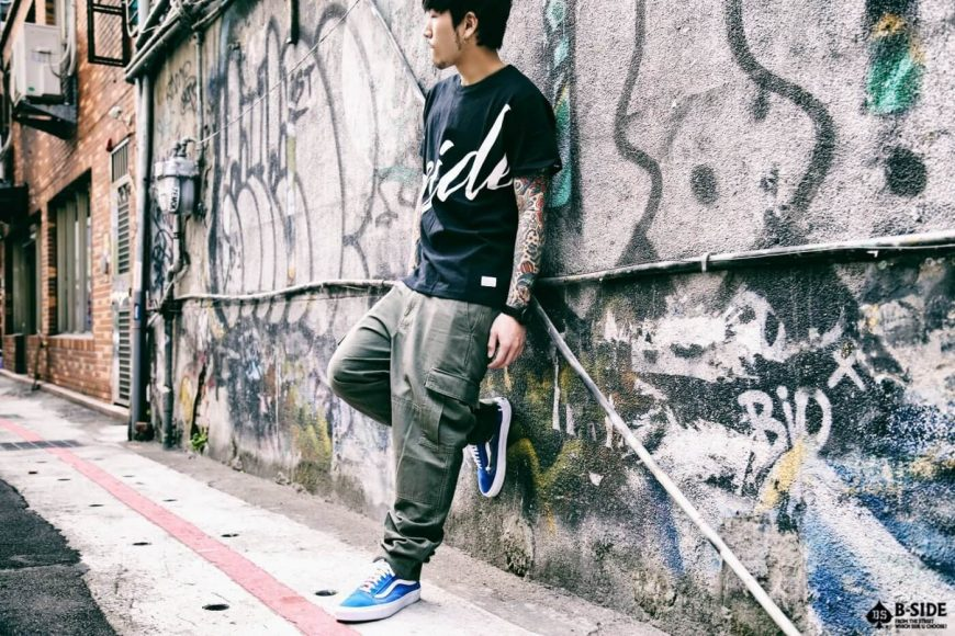 B-SIDE 16 AW Type-B ARMY Trousers (1)