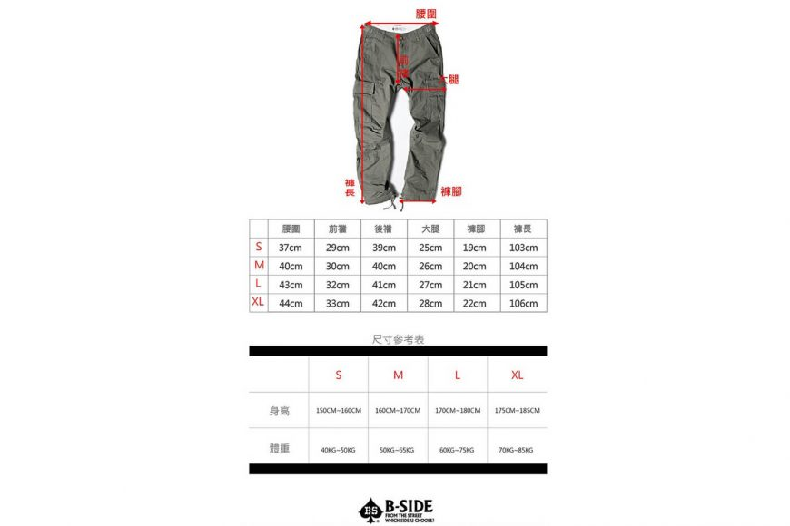 B-SIDE 16 AW Type-B ARMY Trousers (13)