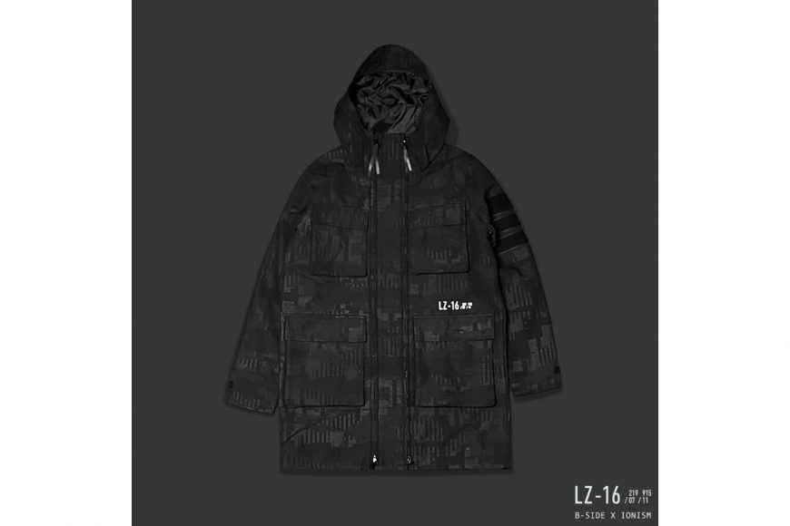 B-Side 16 AW BS x Ion Oversize M65 Parka (3)
