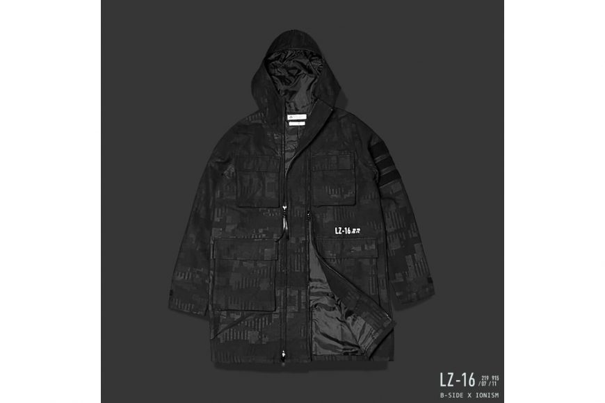 B-Side 16 AW BS x Ion Oversize M65 Parka (4)