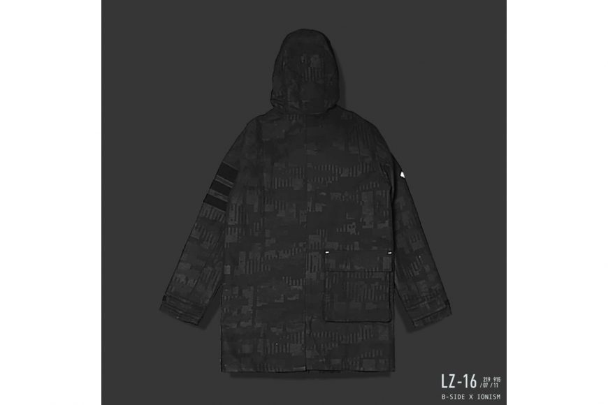 B-Side 16 AW BS x Ion Oversize M65 Parka (5)