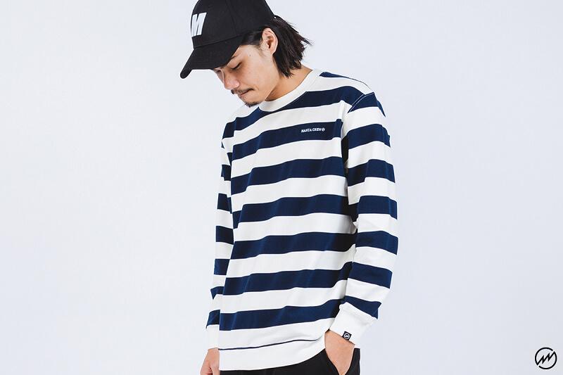 Mania 16 AW Stripe Sweatshirt (1)