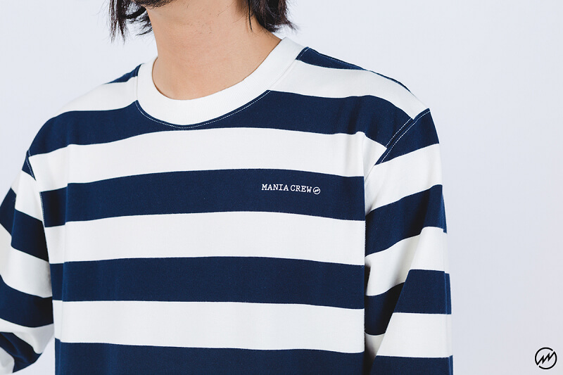 Mania 16 AW Stripe Sweatshirt (2)
