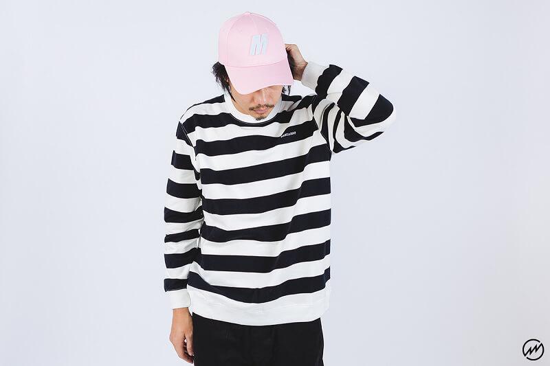 Mania 16 AW Stripe Sweatshirt (3)