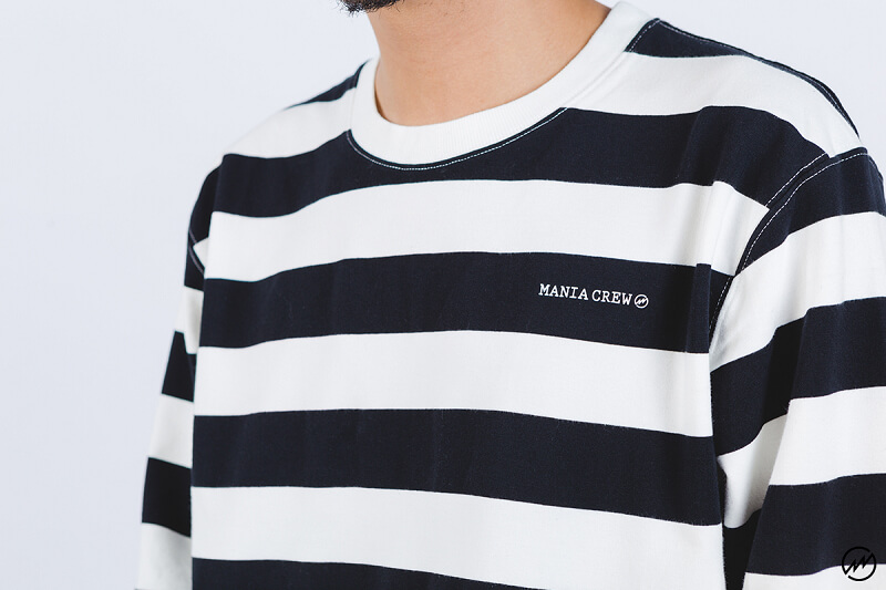 Mania 16 AW Stripe Sweatshirt (4)