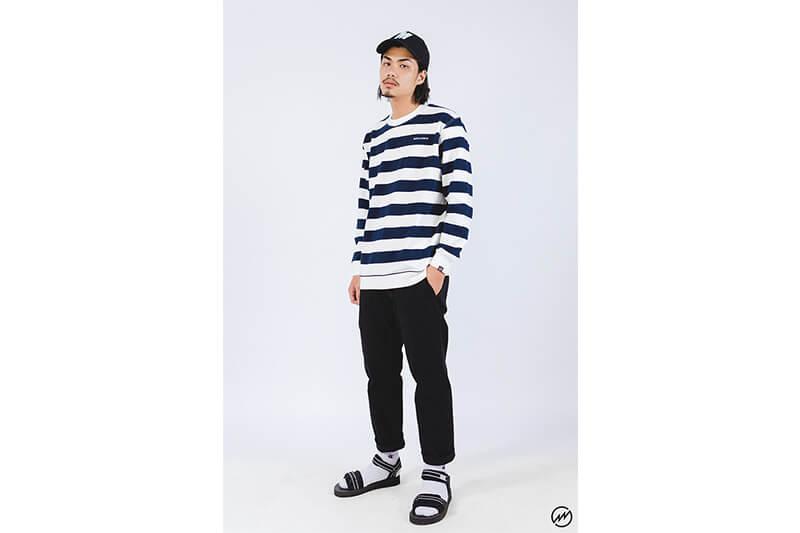 Mania 16 AW Stripe Sweatshirt (5)