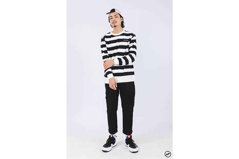 Mania 16 AW Stripe Sweatshirt (6)