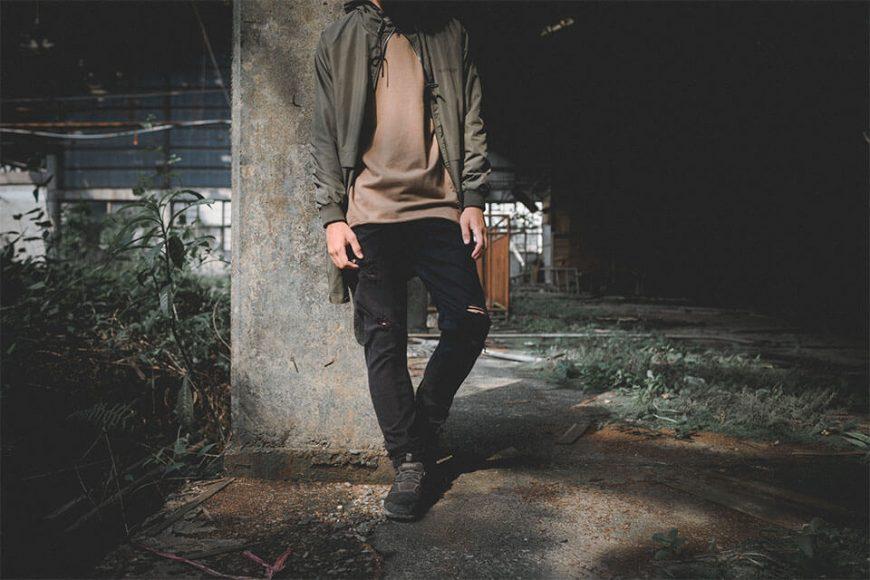 NextMobRiot 16 FW Skinny Elasticty Torn Jeans (7)