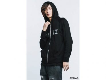 OVKLAB 16 AW Anti Zip-Up Hoodie (2)