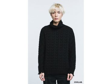 OVKLAB 16 AW High Kneck Knit Sweater (4)