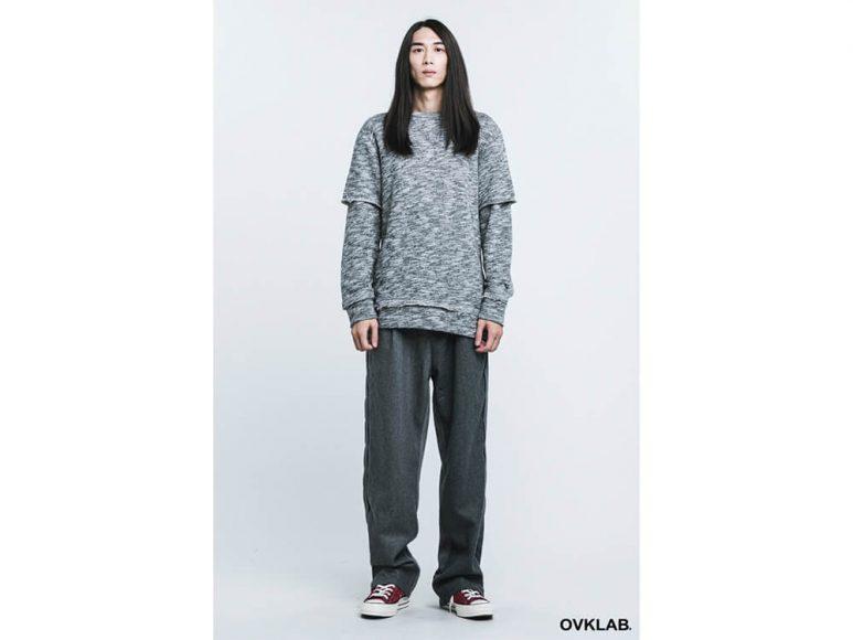 OVKLAB 16 AW Layered Sweatshirt (1)
