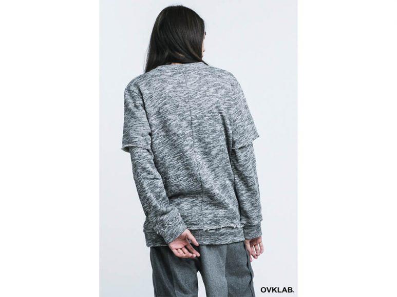 OVKLAB 16 AW Layered Sweatshirt (3)